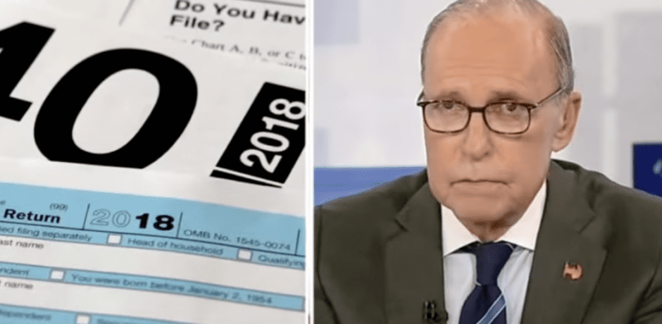 """EXCELLENT: Kudlow Blasts Biden on His Blatant Lies About """"Pay Their Fair Share"""" [Video]"""