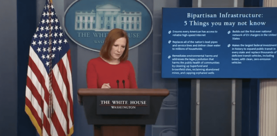 """Biden Spin Doctor Jen Psaki Blames Supply Chain Crisis on Americans """"Buying More Goods"""" [Video]"""