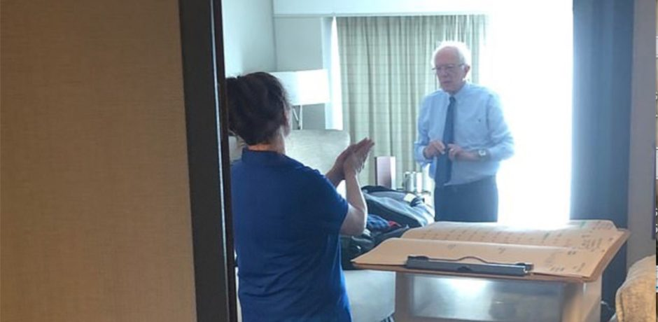Leaked Memo Reveals Specific Hotel Room Demands Made By Pampered, Multi-Millionaire, Socialist Bernie Sanders